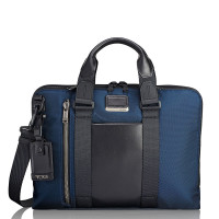 Tumi Alpha Bravo Aviano Slim Brief Navy