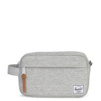 Herschel Chapter Carry On Toilettas Light Grey Crosshatch