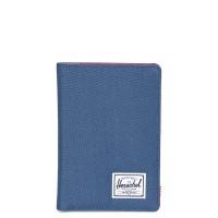 Herschel Raynor Passport Holder RFID Navy/Red