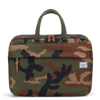 Herschel Sandford Laptop Schoudertas Woodland Camo