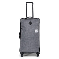 Herschel Highland Trolley Medium Raven Crosshatch