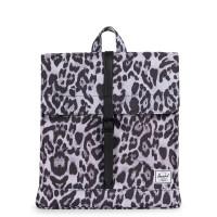 Herschel City Rugzak Mid-Volume Snow Leopard/Black