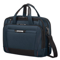 "Samsonite Pro-DLX 5 Laptop Bailhandle 15.6"" Expandable Oxford Blue"