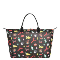 Mi-Pac Gold X Tatty Devine Weekender Characters Black