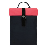 Mi-Pac Day Pack Rugtas Contrast Canvas Blue/Black Washed Red