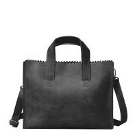 Myomy My Paper Bag Handbag Cross-Body Off Black