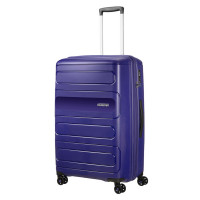 American Tourister Sunside Spinner 77 EXP Navy