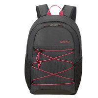 "American Tourister Road Quest Laptop Backpack M 15.6"" Graphite/ Pink"