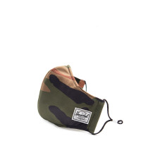 Herschel Classic Fitted Facemask Mondkapje Woodland Camo
