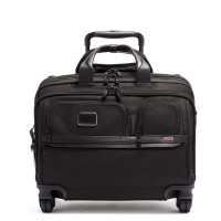 Tumi Alpha 3 DLX 4 Wheel Laptop Briefcase Black