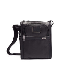Tumi Alpha 3 Pocket Bag Small Leather Black