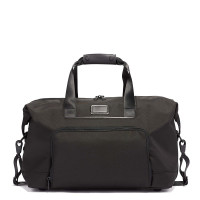 Tumi Alpha 3 Double Expansion Satchel Black
