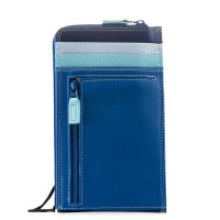 Mywalit Neck Purse/ Wallet Portemonnee Denim