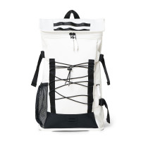 Rains Original Mountaineer Bag Backpack Off White