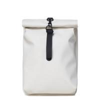 Rains Original Roll Top Mini Backpack Off White