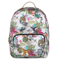 The Pack Society The Classics Rugzak Multicolor Jungle Allover
