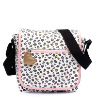 Zebra Trends Kinder Schoudertas met flap Leo White/ Pink
