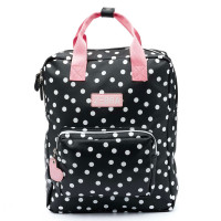 Zebra Trends Girls Rugzak L Dots Black