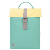 Mi-Pac Day Pack Rugtas Contrast Canvas Mint/Pastel Lemon