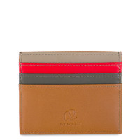 Mywalit Double Sided Credit Card Holder Caramel