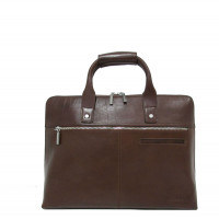 "Claudio Ferrici Legacy Workbag 13.3"" Brown"