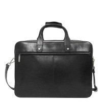 "Claudio Ferrici Legacy Business Briefcase 15.6"" Black"