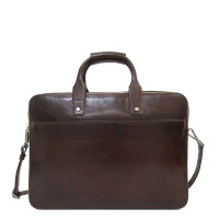 "Claudio Ferrici Legacy Business Briefcase 15.6"" Brown"