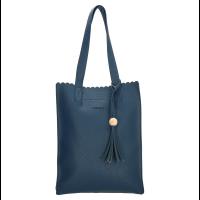 Charm London Covent Garden Shopper Blue