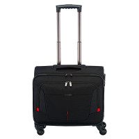 Travelite @Work Business Wheeler Laptop Trolley Black Melange
