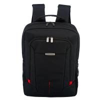 Travelite @Work Business Backpack Slim Black Melange