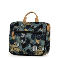 The Pack Society Toiletry Bag/ Toilettas Green Camo Allover