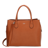"Charm London Stratford Laptoptas 13.3"" Cognac"