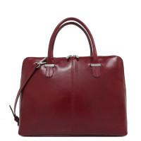 """Claudio Ferrici Classico Workbag 13.3"""" Red 18027"""