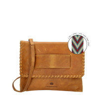 Micmacbags Friendship Clutch / Schoudertasje Camel
