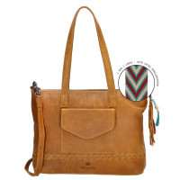 Micmacbags Friendship Schoudertas Camel