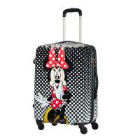 American Tourister Disney Legends Spinner 65 Alfatwist Minnie Mouse Polka Dot