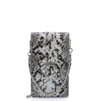 MŌSZ Phonebag Schoudertas Python Black Grey