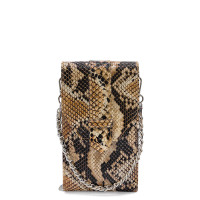 MŌSZ Phonebag Schoudertas Python Brown Chocolate