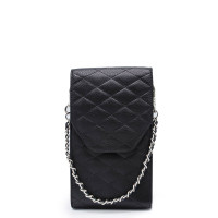 MŌSZ Phonebag Schoudertas Quilted Black