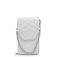 MŌSZ Phonebag Schoudertas Quilted White Off