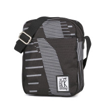 The Pack Society The Small Shoulderbag Black Stripe Allover