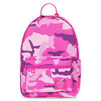 Parkland Edison Kids Backpack Woodland Camo Pink