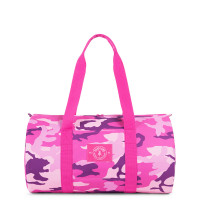 Parkland Lookout Small Duffle Woodland Camo Pink