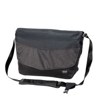 Jack Wolfskin Wool Tech Messenger Schoudertas Phantom