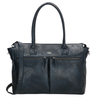 "Charm London Chelsea Shopper 15.6"" Blue"