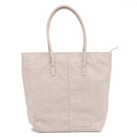 Zebra Trends Natural Bag Kartel Rits Vintage Light Grey 208804