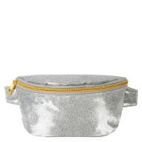 Mi-Pac Bumbag Heuptas Glitter Silver