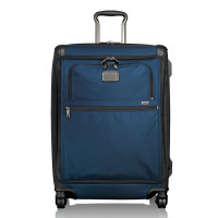 Tumi Alpha 2 Travel Front Lid Short Trip 4-Wheeled Packing Case Navy/Black
