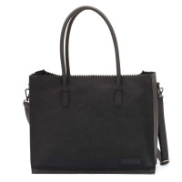 Zebra Trends Natural Bag Kartel Lisa Black