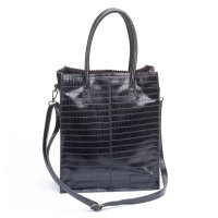 Zebra Trends Natural Bag Kartel Fearless Rosa Black Croco 231007